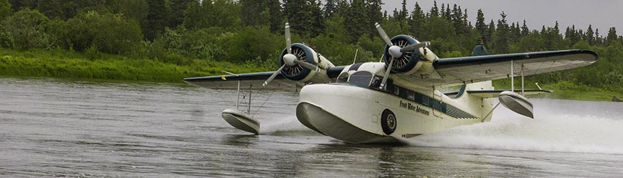 nushagak river fishing float plane